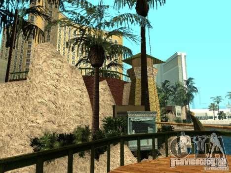 Новые текстуры для казино Визаж для GTA San Andreas третий скриншот