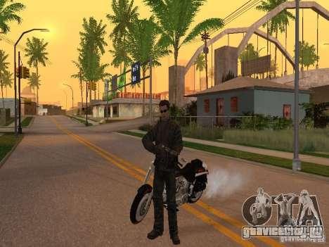 Terminator для GTA San Andreas второй скриншот