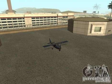 Новый самолёт Dodo для GTA San Andreas вид изнутри