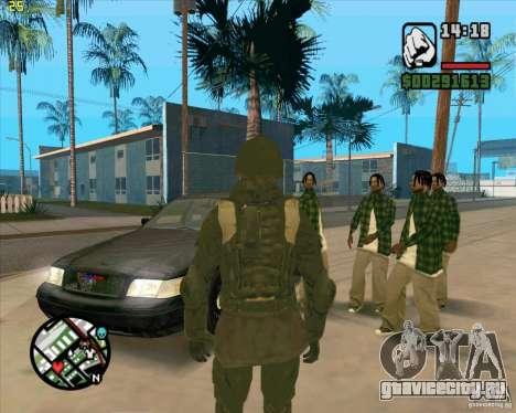 Скин SAS для GTA San Andreas второй скриншот
