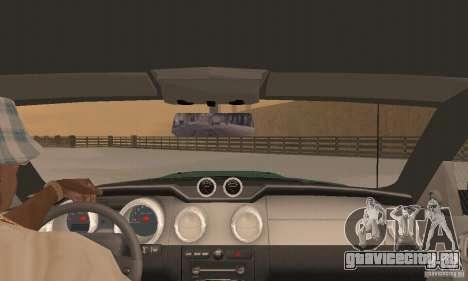 Saleen S281 v2 для GTA San Andreas вид сбоку