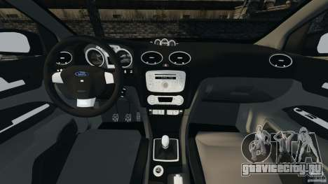 Ford Focus RS для GTA 4 вид сзади