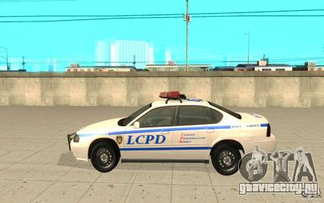 Police Patrol из GTA 4 для GTA San Andreas вид слева