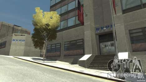 Remake police station для GTA 4 второй скриншот