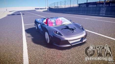 Ferrari F430 Extreme Tuning для GTA 4 вид изнутри