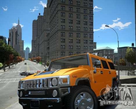 Hummer H2 2010 Limited Edition для GTA 4 вид слева