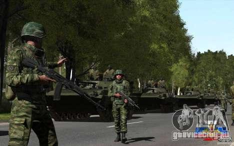 Скин русского солдата для GTA San Andreas третий скриншот