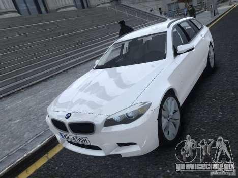 BMW M5 F11 Touring V.2.0 для GTA 4 вид слева