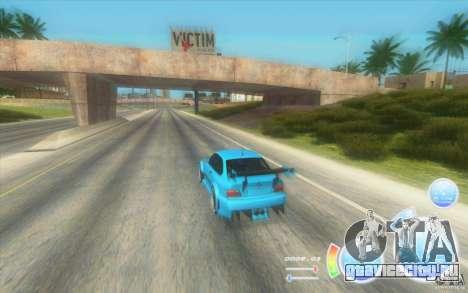 CraZZZy Speedometer v.2.2 + Ограниченный бензин для GTA San Andreas второй скриншот