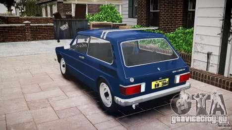 Volkswagen Brasilia для GTA 4 вид изнутри