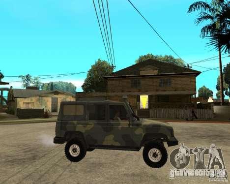 УАЗ 3172 для GTA San Andreas вид справа