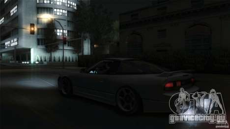 Nissan 240SX S13 Drift Alliance для GTA San Andreas вид справа