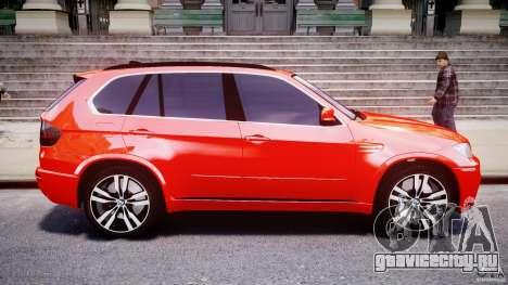 BMW X5M Chrome для GTA 4 вид слева