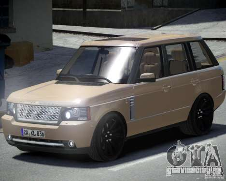 Land Rover SuperСharged для GTA 4