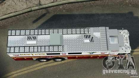 FDNY Rescue 1 [ELS] для GTA 4 вид справа