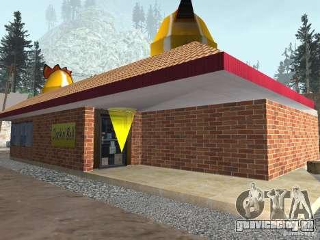 Изменённая деревня Сосна Ангела для GTA San Andreas