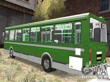 ЛиАЗ 5256.25 для GTA 4 вид слева