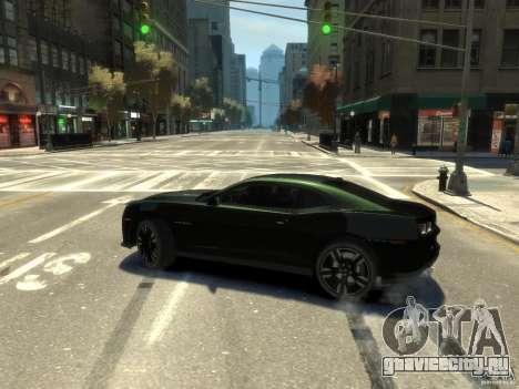 Chevrolet Camaro ZL1 v1.0 для GTA 4 вид слева