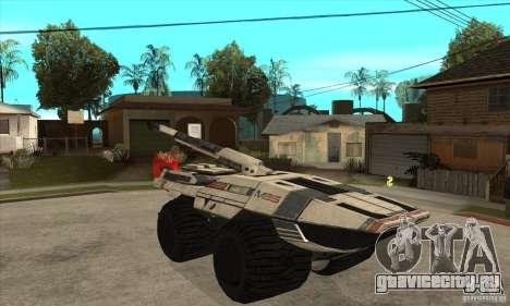 M35 Mako для GTA San Andreas вид сзади