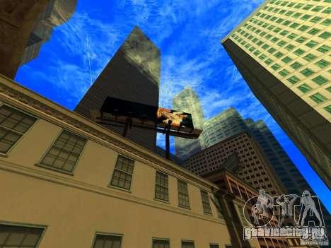 Расширение угла обзора камеры V2 для GTA San Andreas второй скриншот