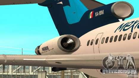 Boeing 727-200 Final Version для GTA San Andreas вид слева
