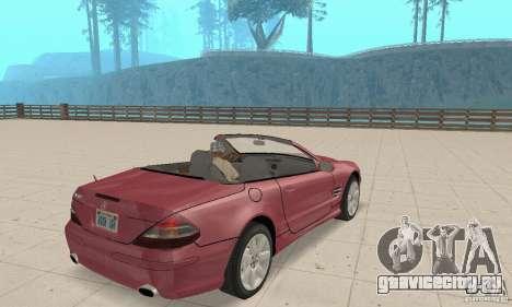 Mercedes-Benz SL500 (R230) для GTA San Andreas вид слева