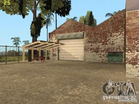 Автосервис около Grove для GTA San Andreas
