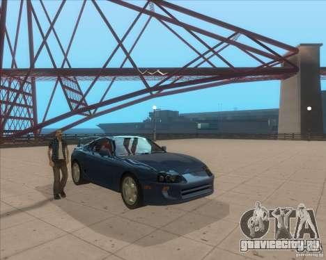 ENB from GTA VI come Back для GTA San Andreas второй скриншот