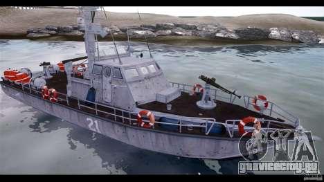 Russian PT Boat для GTA 4 вид сзади слева
