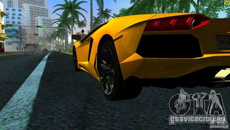 Lamborghini Aventador LP 700-4 для GTA Vice City вид справа