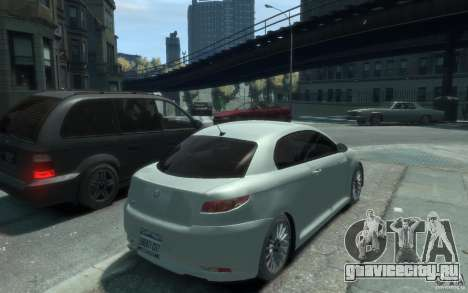 Alfa Romeo GT для GTA 4