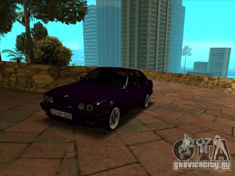 BMW M5 E34 NeedForDrive для GTA San Andreas