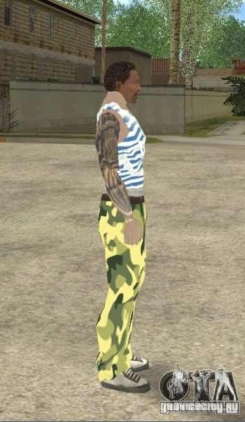 CJ ВДВ для GTA San Andreas третий скриншот