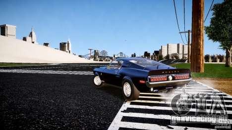Ford Shelby GT500 KR 1968 для GTA 4 вид справа