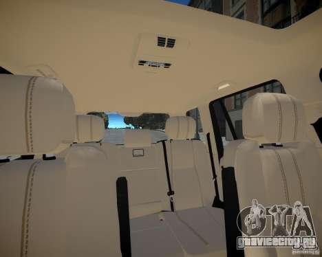Land Rover SuperСharged для GTA 4 вид сверху