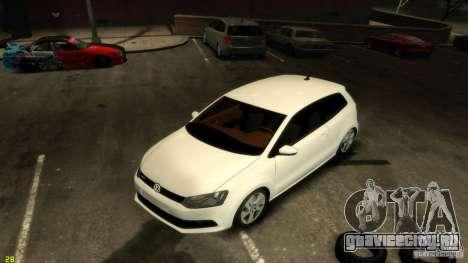 Volkswagen Polo v1.0 для GTA 4 вид сзади