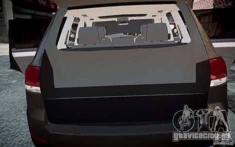 Volkswagen Touareg R50 для GTA 4 вид сбоку
