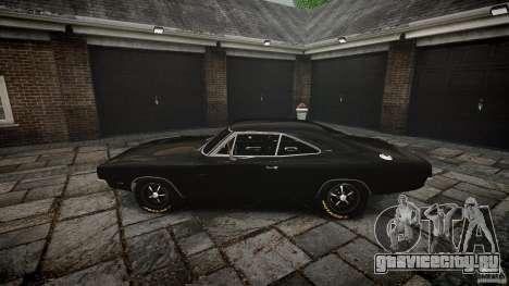 Dodge Charger RT 1969 для GTA 4 вид сверху