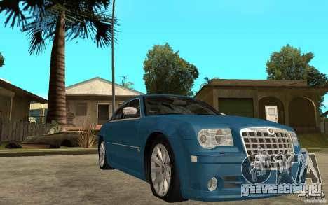 Chrysler 300C 6.1 SRT-8 2007 для GTA San Andreas вид сзади