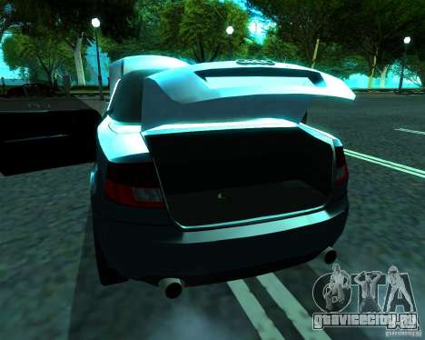 Audi A4 Cabrio для GTA San Andreas вид справа