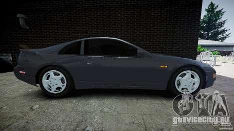 Nissan 300 ZX для GTA 4 вид изнутри