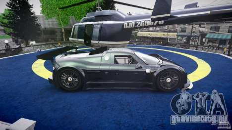 Gumpert Apollo Sport v1 2010 для GTA 4 вид сбоку