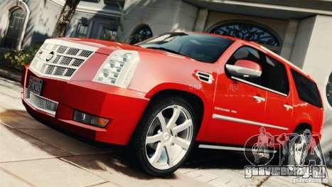 Cadillac Escalade ESV Platinum 2012 для GTA 4