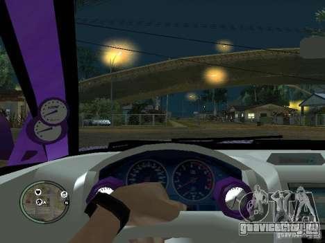Mitsubishi Spyder 2Fast2Furious Cabriolet для GTA San Andreas вид сбоку