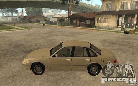 Ford Crown Victoria LX 1992 для GTA San Andreas вид слева