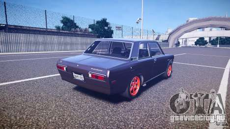 Datsun Bluebird 510 Tuned 1970 [EPM] для GTA 4 вид сбоку