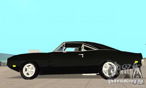 Dodge Charger RT 1970 The Fast & The Furious для GTA San Andreas вид слева