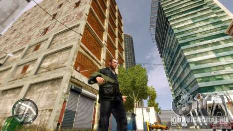 Tavor TAR-21 для GTA 4 четвёртый скриншот
