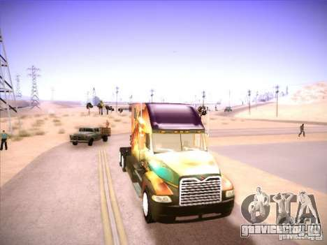 Mack Vision для GTA San Andreas вид слева