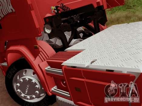Scania R620 Brahma для GTA San Andreas вид сверху